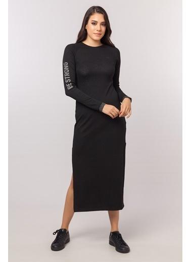 Bilcee Elbise Siyah